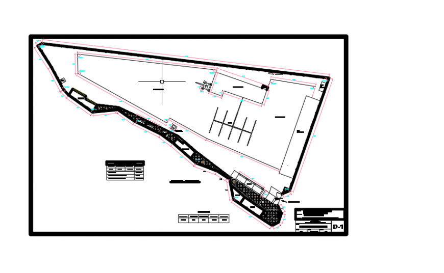2d cad drawing of plan of clubhouse autocad software