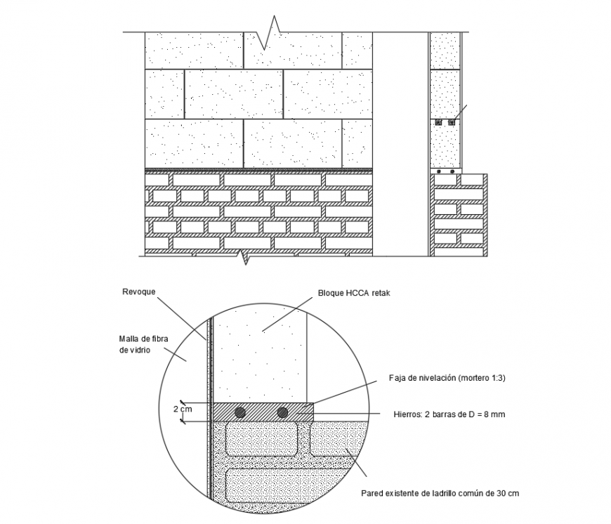 2d cad drawing of plaster block auto cad software