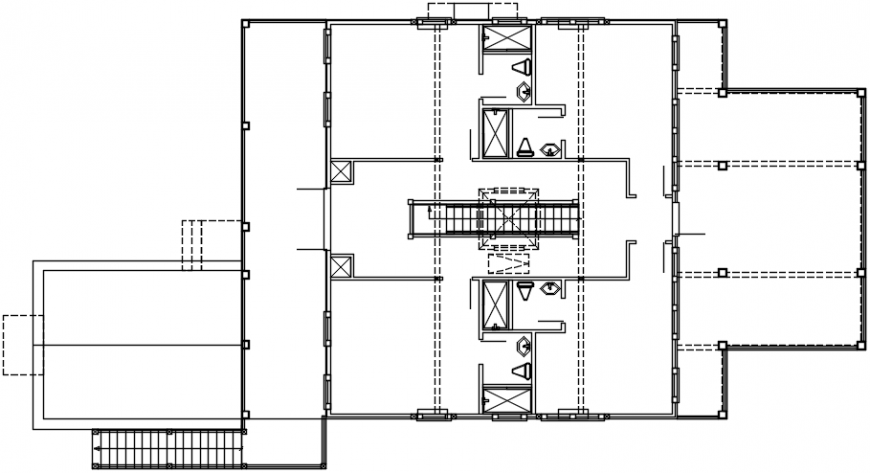 2d cad drawing of plumbing autocad software