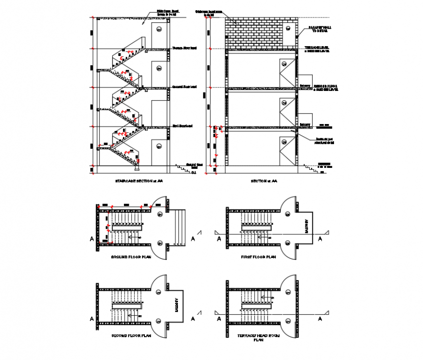 2d cad drawing of proposed industrial plan autocad software