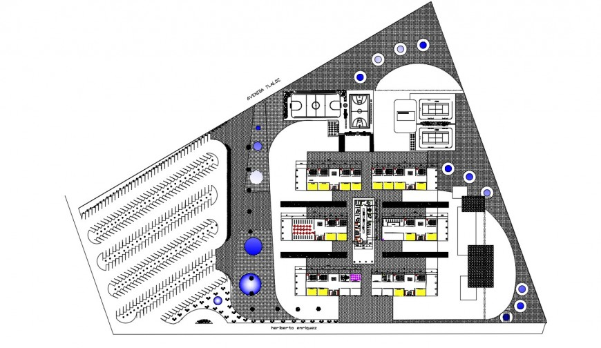 2d cad drawing of university of design autocad software