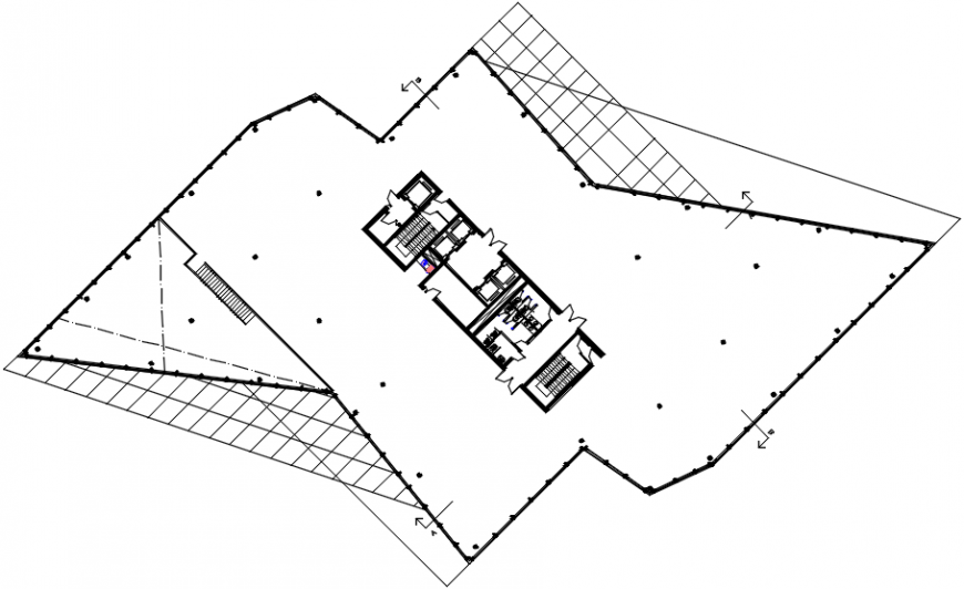 2d cad drawing of washrooms 2 autocad software