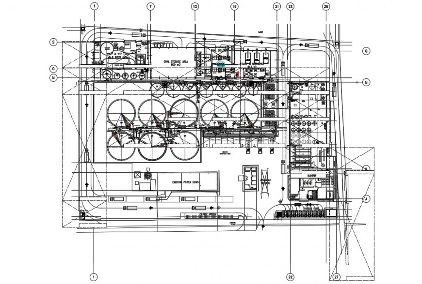 2d cad drawing of water filtration autocad software