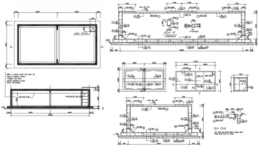 2d cad drawing of window construction autocad software