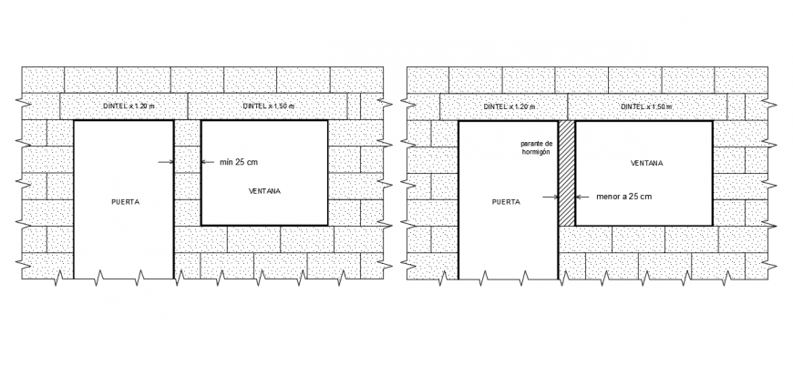 2d cad drawing of window elevation auto cad software