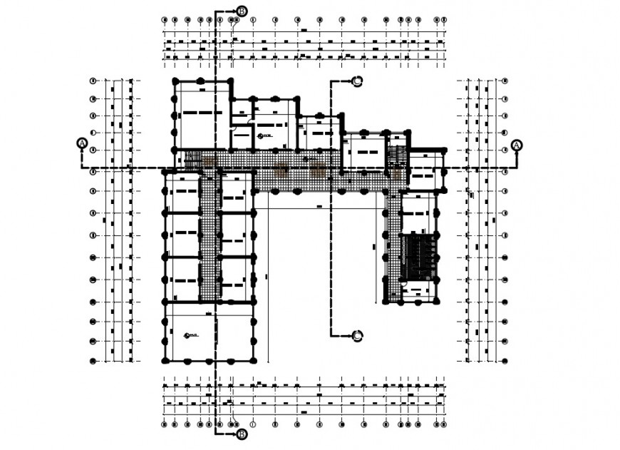 2d CAD drawings detailing of school building units dwg file