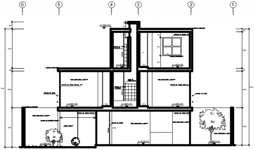 2d CAD drawings details of housing units autocad software file