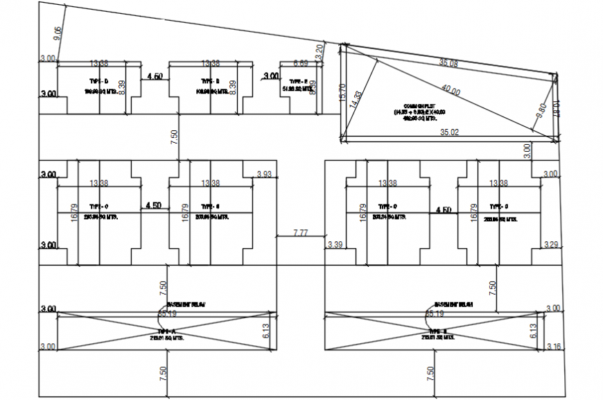 2d cad drawings of commercial building autocad software