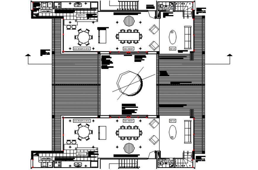 2d cad drawings of hotel room floor autocad software