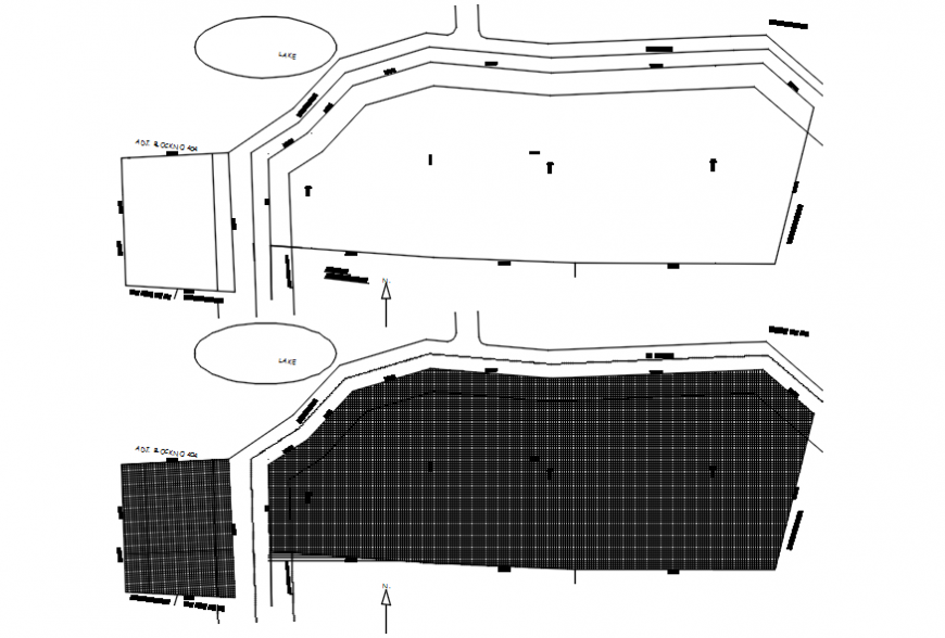 2d cad drawings of new layout AutoCAD software