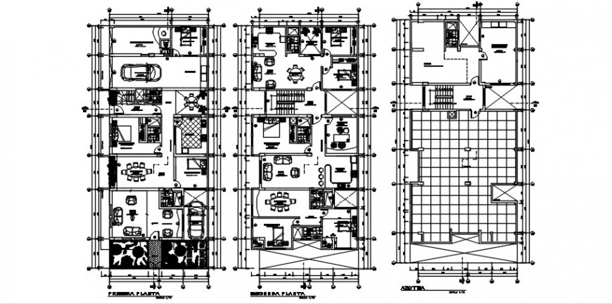 2d CAD plan details of housing apartment drawings autocad software file