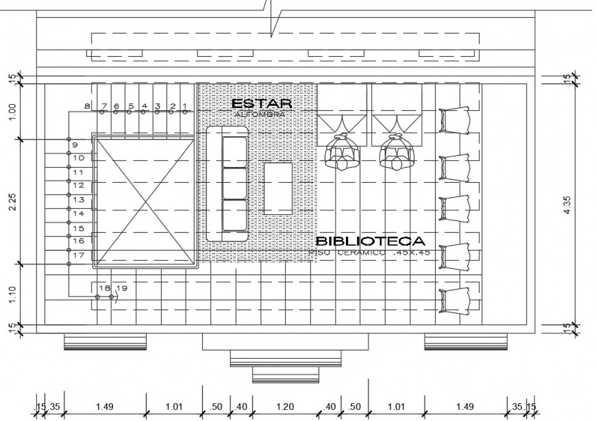 2d drawings detail of office room plan dwg autocad file