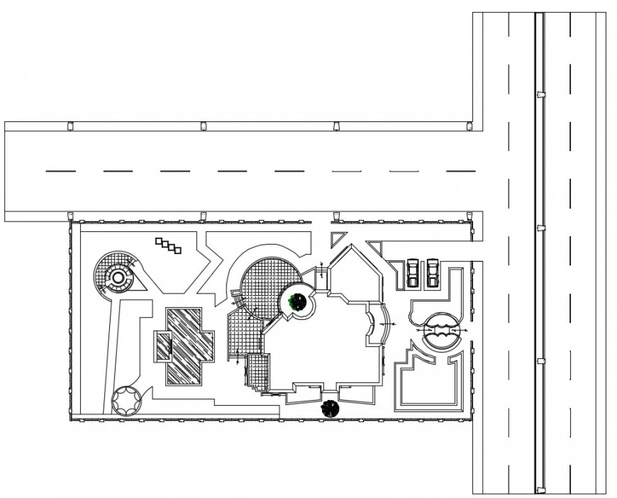 2d drawings details of existing apartment building dwg file