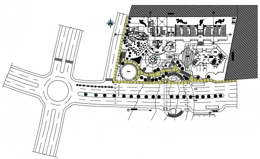 2d drawings details of commercial building and area detailing dwg file