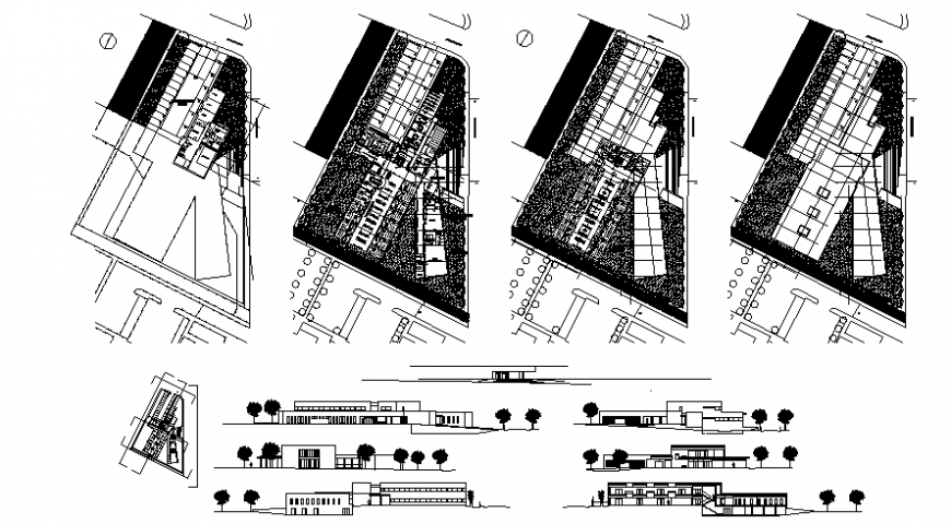 2d drawings of house drawings layout plan elevation and section autocad file
