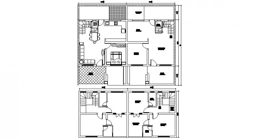 2d drawings of house layout floor plan dwg file