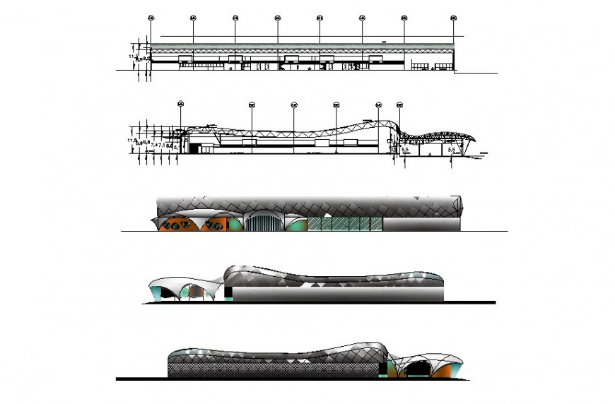 2D elevation of airport