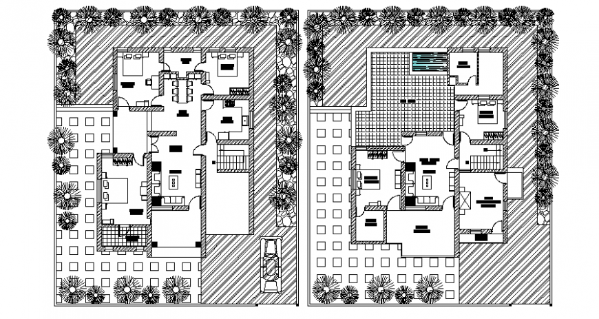 2d floor plan of house layout drawings autocad software file