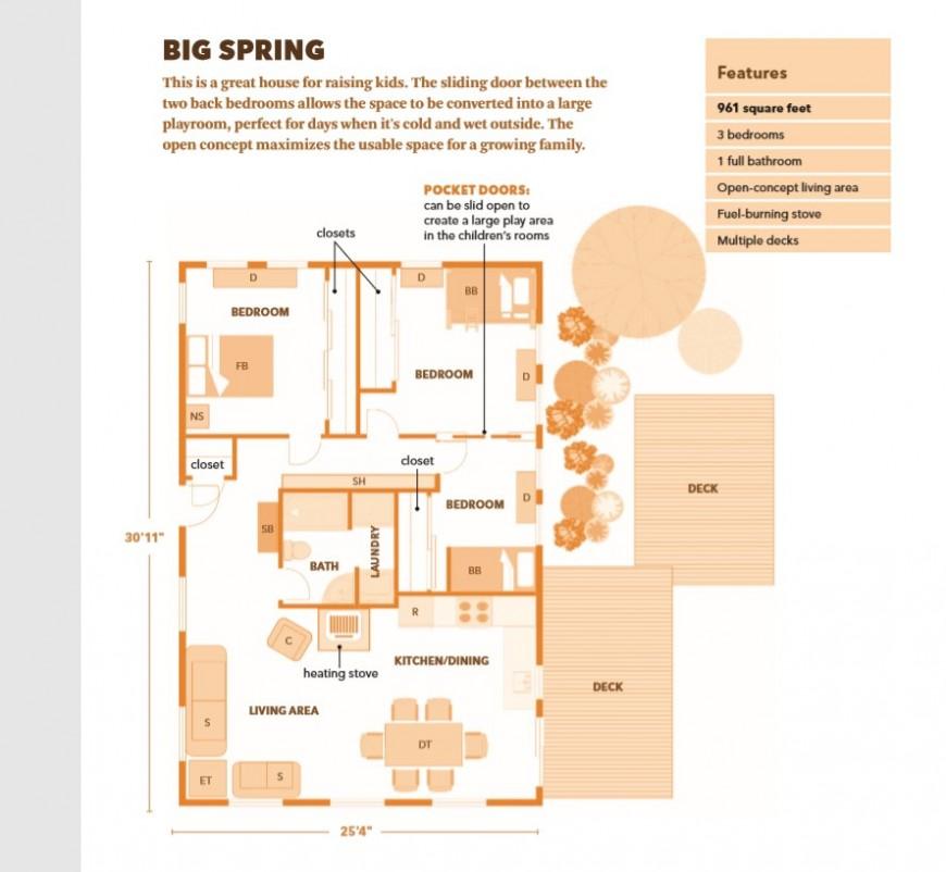 2d house plan detail pdf file