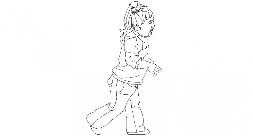 2d kid blocks autocad file