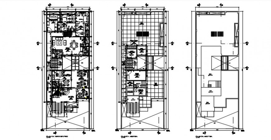 2d plan of housing apartment autocad software file