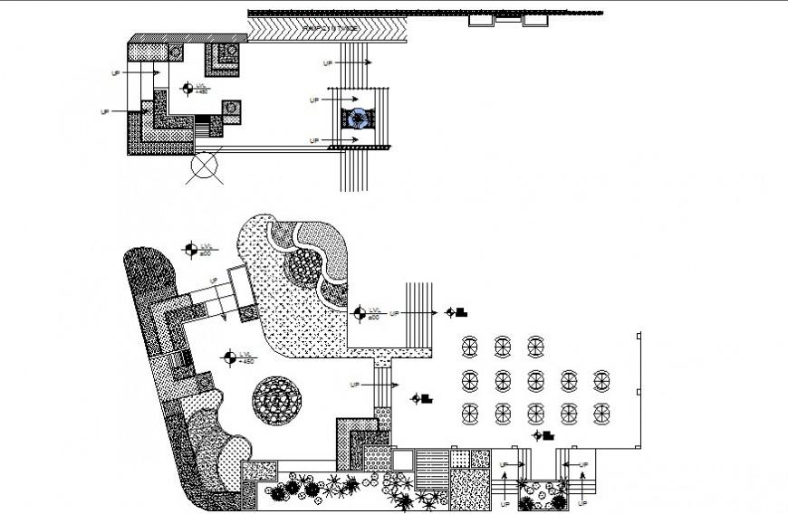 2d restaurant project detail dwg file