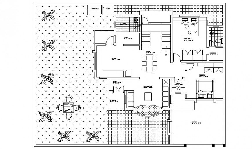 2d work plan drawings of housing apartment autocad file