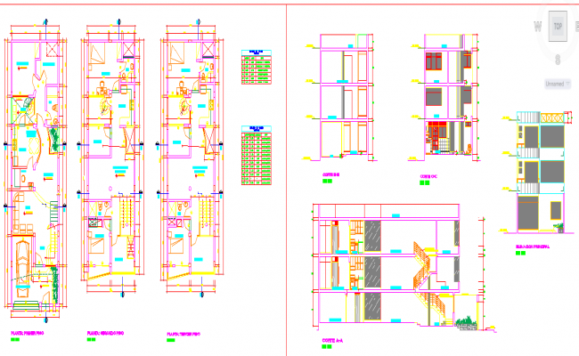simple house design dwg