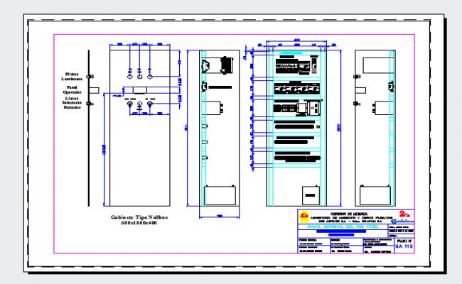 Detail Gabinete Interior