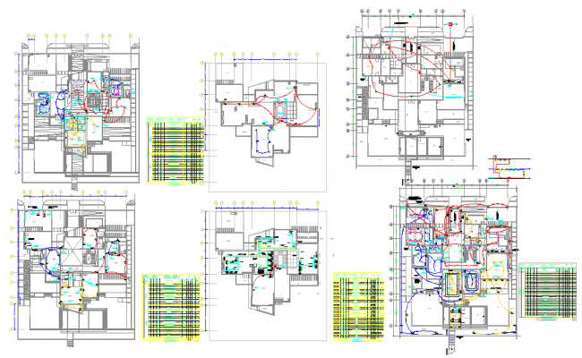 First Floor Power Lay-out