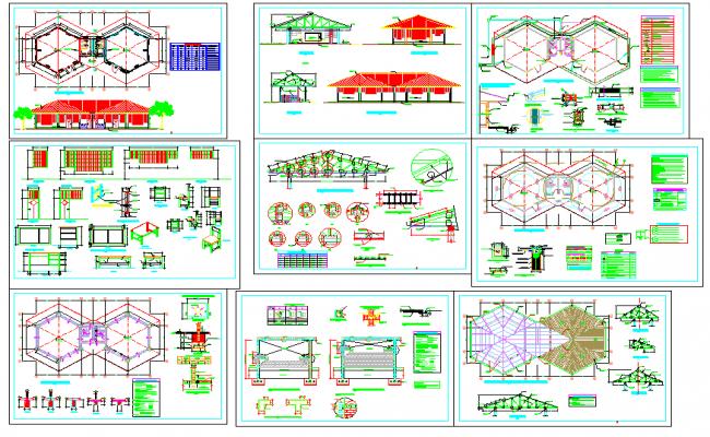 Collage plan dwg