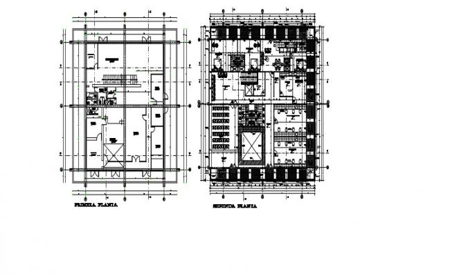 2nd Floor Plan In AutoCAD File