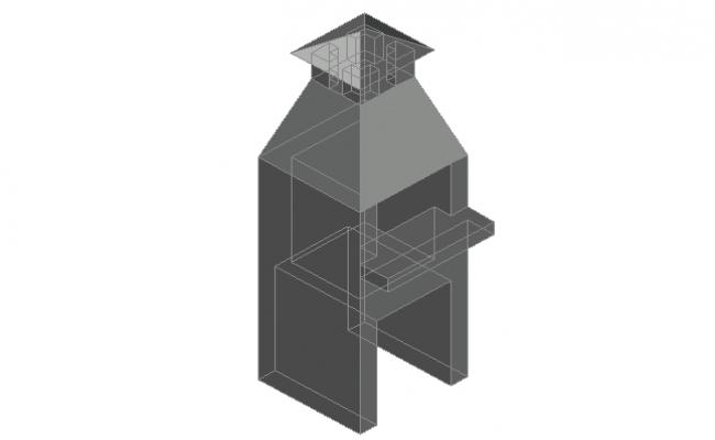 3 D elevation detail dwg file