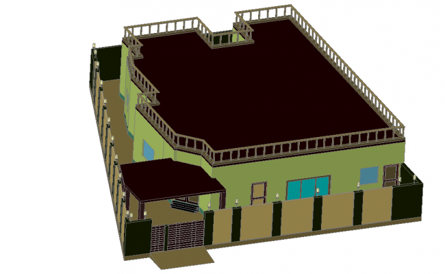 3 D home plan layout file