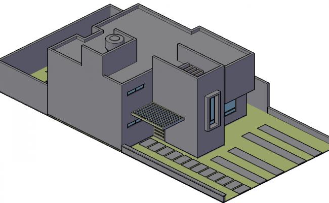 3 D plan detail