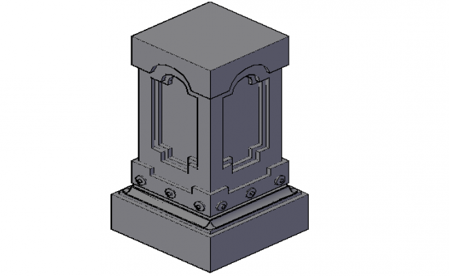 3 D view dwg file