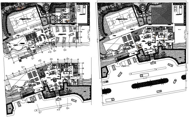 3 Star Hotel Project CAD Drawing
