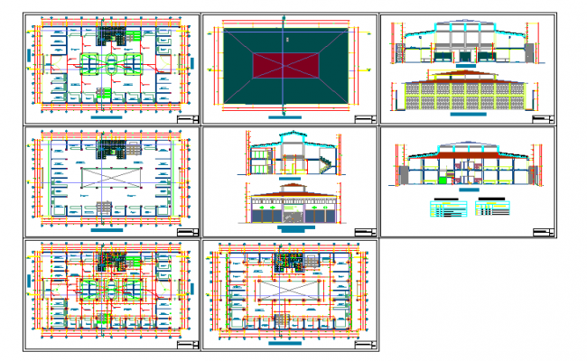 3 Storey Commercial Building Floor Plan