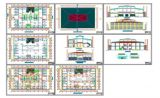 3 storey commercial building floor plan for Commercial building design plans