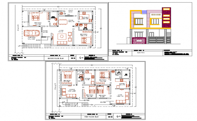 30 39 x50 39 house plan autocad files for House plan cad file