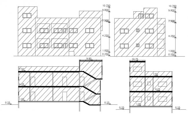 30 By 60 Feet House Building Design DWG File