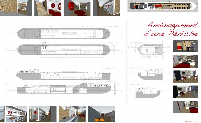 ship interiors floor plan and detail