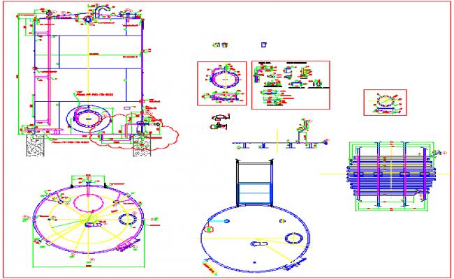 storage tank drawing