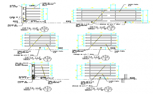 Railing Steel Structure Design