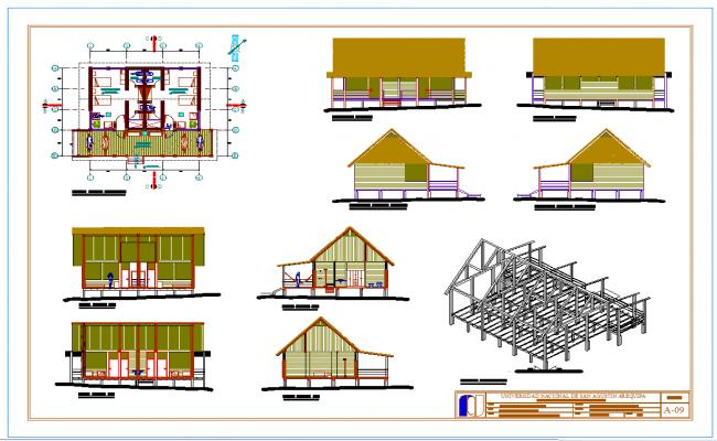 Cabin plan detail