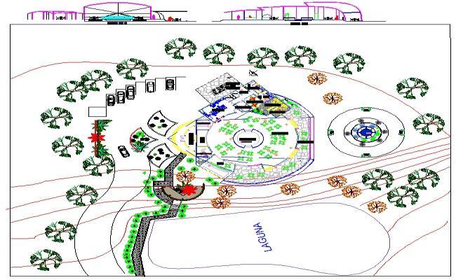 Tourist  Restaurant  Design Plan