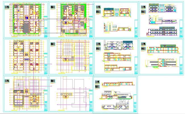 Famous Hospital plan