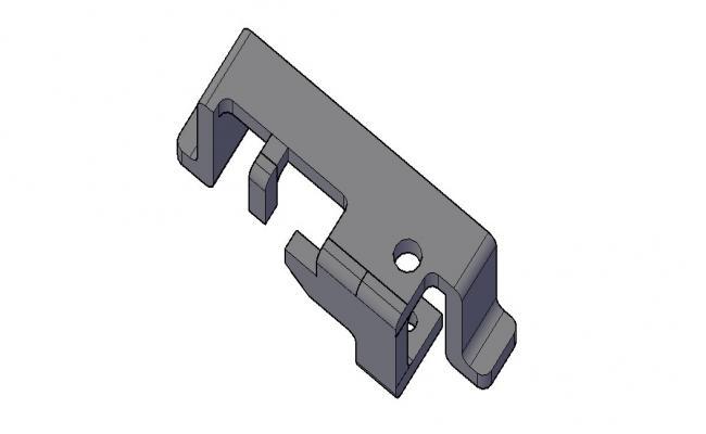 3D Block Model In AutoCAD File
