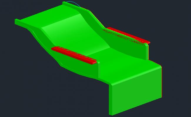 3D Chair Block Detail