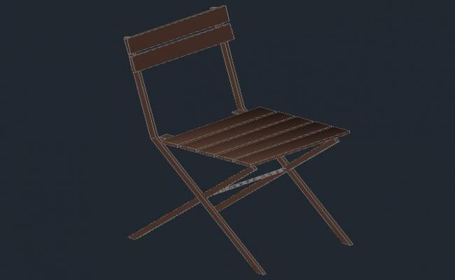 3D Chairs_AutoCAD Files